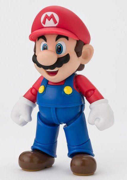 Boneco Super Mario Brothers: Nintendo - S.H. Figuarts - Bandai