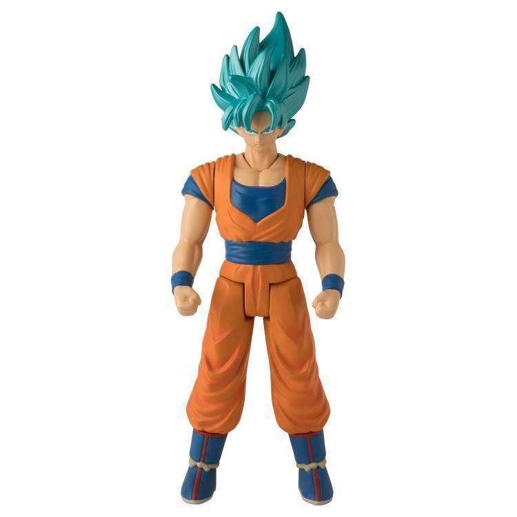 "Action Figure Super Saiyan Blue Goku 12"": Dragon Ball Super (Super Limit Breaker) Boneco Colecionável - Bandai"