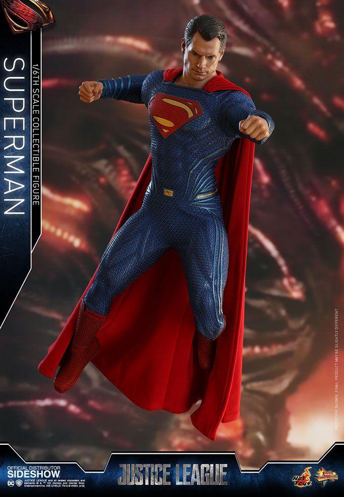 PRÉ VENDA: Boneco Superman (Super-Homem): Justice League (Liga da Justiça) MMS465 Escala 1/6 - Hot Toys