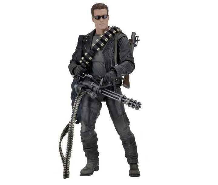 Boneco T-800: O Exterminador do Futuro 2: O Julgamento Final (Terminator 2) Escala 1/4 - Neca