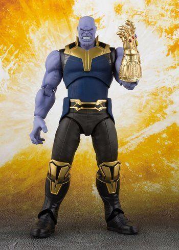 PRÉ VENDA: Boneco Thanos: Vingadores Guerra Infinita (Avengers Infinity War) S.H.Figuarts - Bandai
