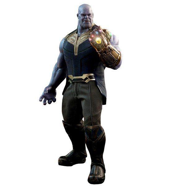 Action Figure Thanos: Vingadores Guerra Infinita (Avengers Infinity War) MMS479 Escala 1/6 - Hot Toys