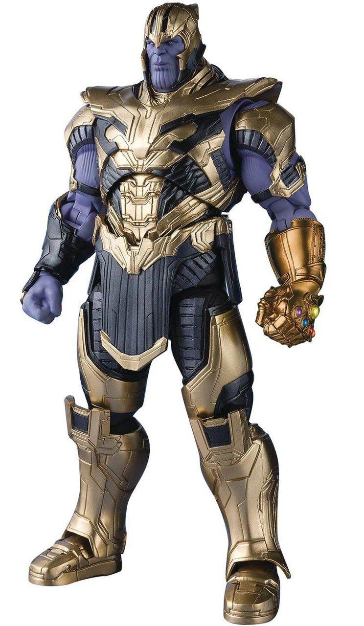 PRÉ VENDA Action Figure Thanos: Vingadores Ultimato (Avengers Endgame) S.H.Figuarts - Boneco Colecionável - Bandai