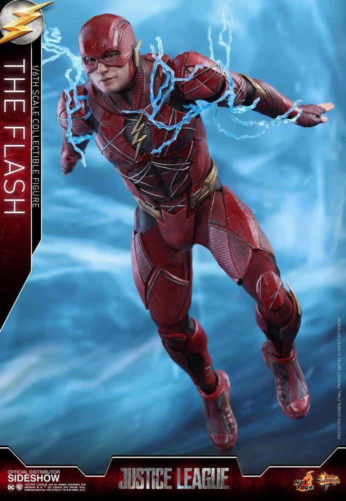 Action Figure The Flash: Liga da Justiça (Justice League) MMS448 (Escala 1/6) - Hot Toys