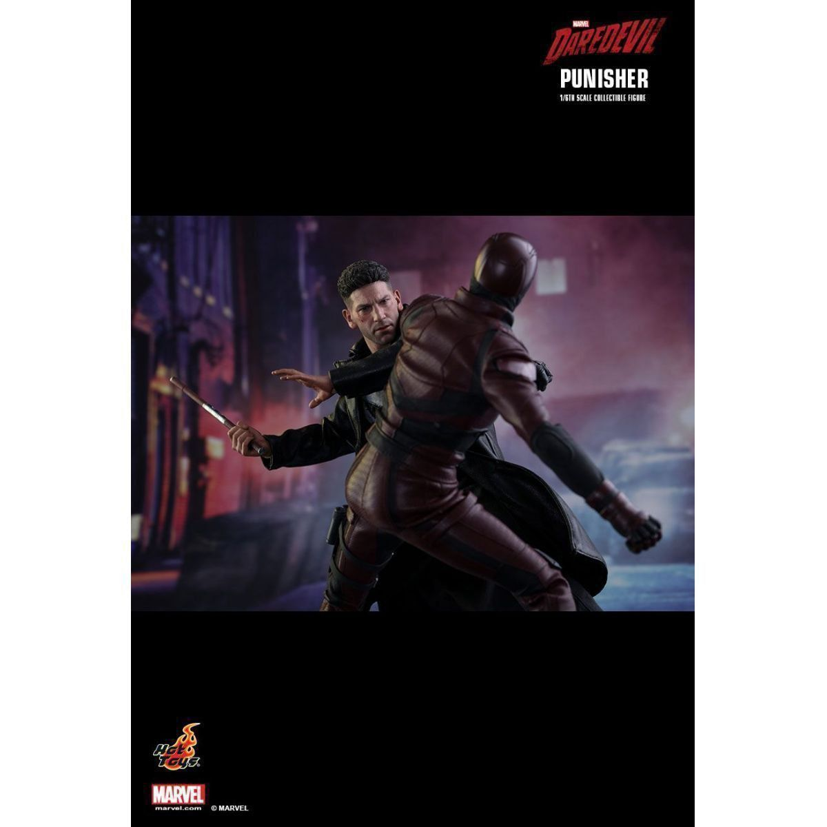 Action Figure The Punisher O Justiceiro Série Demolidor Daredevil TMS004 Escala 1/6  Marvel - Hot Toys