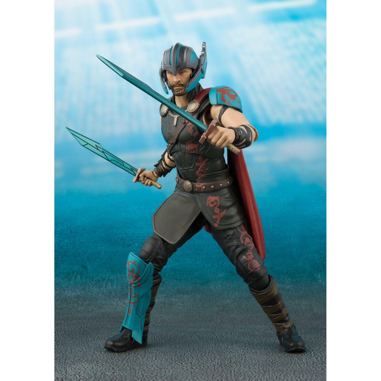 Boneco Thor & Tamashii Effect Thunderbolt effect: Thor 3 Ragnarok S.H.Figuarts - Bandai