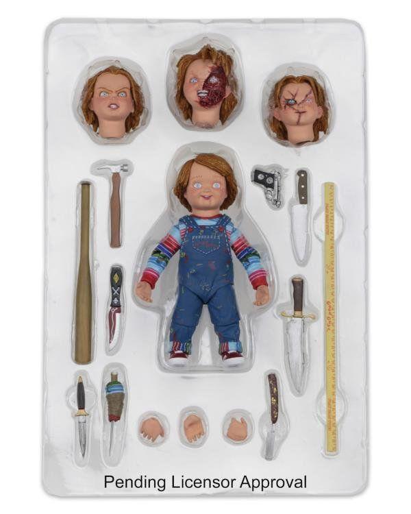 Action Figure Ultimate Chucky: Brinquedo Assassino (Child's Play) - Neca