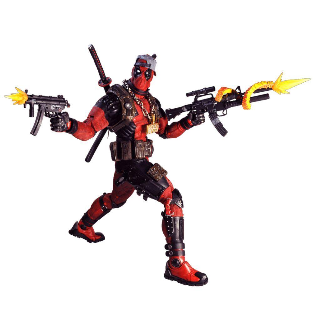 Action Figure Deadpool: Ultimate Deadpool Escala 1/4 (Boneco Colecionável) - NECA (APENAS VENDA ONLINE)