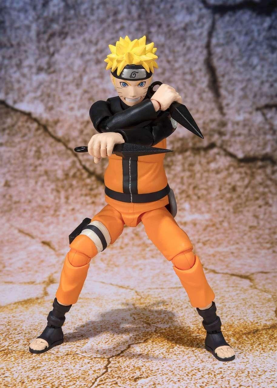 Boneco Uzumaki Naruto Sage Mode: Naruto S.H.Figuarts - Bandai