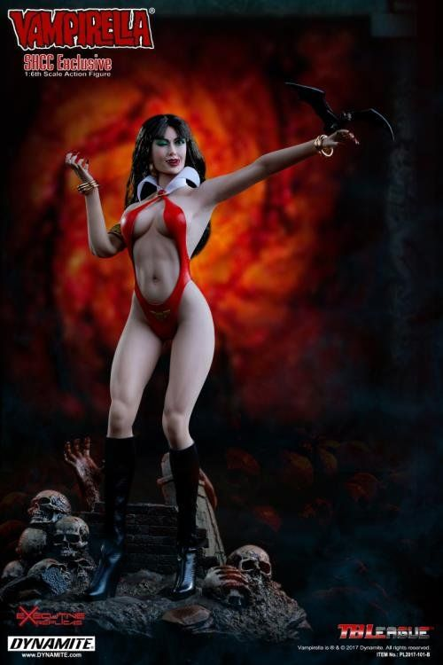PRÉ VENDA: Boneco Vampirella: SHCC Exclusive 1/6 - TB League