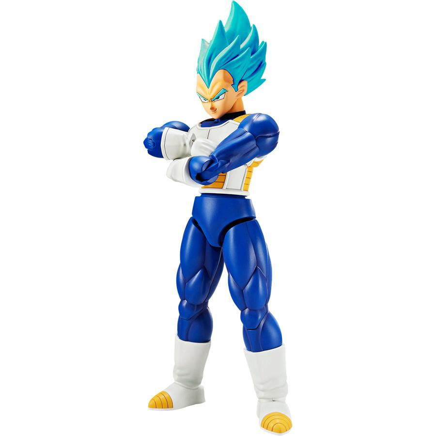 Boneco Vegeta Super Sayajin (Saiyan) God: Dragon Ball Super Figure-Rise - Bandai