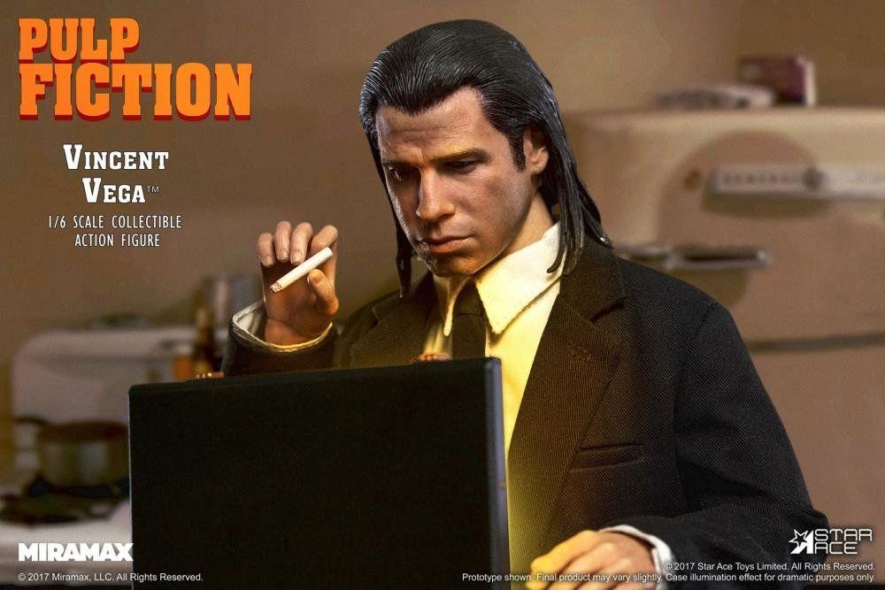 Action Figure  Vincent Vega: Pulp Fiction 1/6 (Boneco Colecionável) - Star Ace