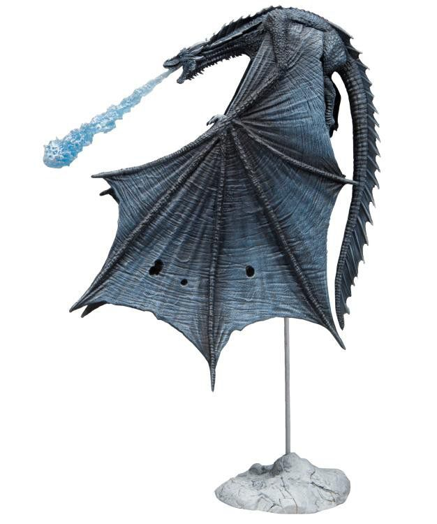 Action Figure Viserion (Ice Dragon): Game of Thrones (Deluxe Figure) - McFarlane Toys