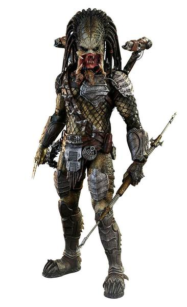 PRÉ VENDA: Boneco Wolf Predador / Predator (Heavy Weaponry): AvP (Alien vs Predator / Predator) Requiem  Escala 1/6 - Hot Toys