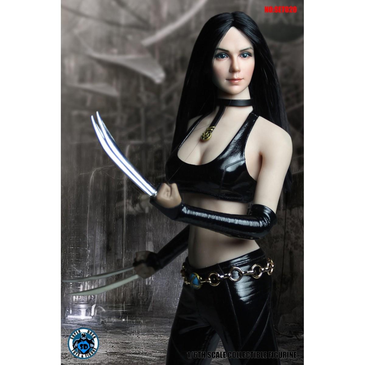 PRÉ VENDA: Boneco X-23 (Wolf Lady): Marvel Cosplay Series 020 Escala 1/6 - Super Duck