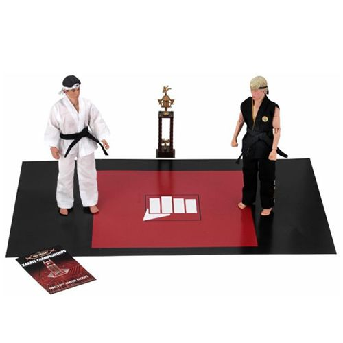 "Action Figure Retrô Torneio (Tournament) 8"": Karatê Kid - A Hora da Verdade (The Karate Kid - 1984) Boneco Colecionável - Neca"