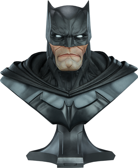 PRÉ-VENDA Busto Batman: Dc Comics Collectible Escala 1/1 - Sideshow