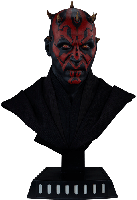 PRÉ VENDA: Estátua Busto Darth Maul: Star Wars (Life-Size) - Sideshow Collectibles