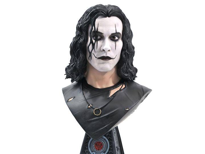 PRÉ VENDA: Estátua Busto 3D Eric Draven: A Lenda Do Corvo Escala 1/2 Edição Limitada Limited Edition - Diamond Select Toys