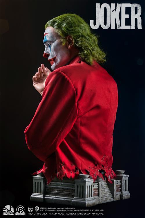 PRÉ VENDA: Busto Estátua Coringa Joker Arthur Fleck Life-Size Edição Limitada Limited Edition - Infinity Studio