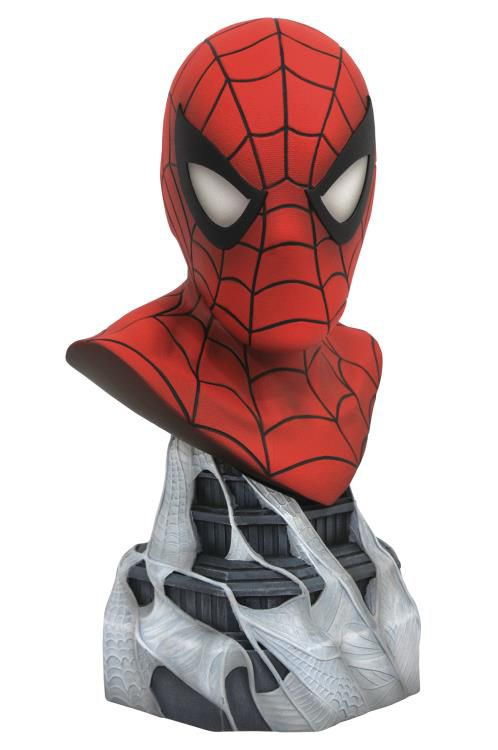 PRÉ-VENDA Estátua Busto Homem Aranha (Spiderman): Marvel Legends (3D) (Escala 1/2) (Limited Edition) - Diamond Select