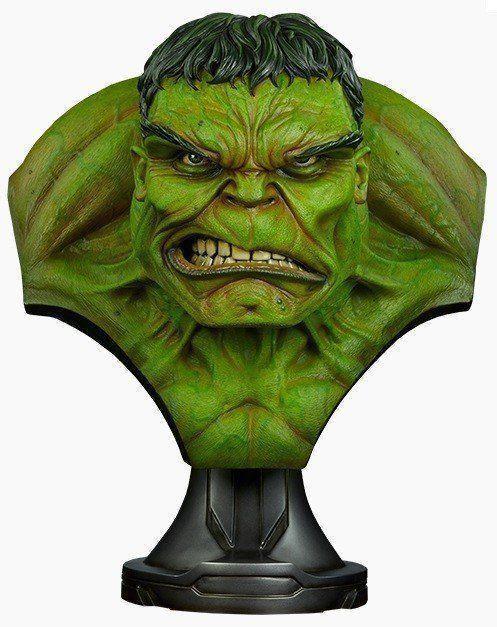 PRÉ VENDA: Busto O Incrível Hulk (The Incredible Hulk) Life-Size Bust Escala 1/1 - Sideshow