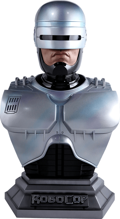 PRÉ VENDA: Estátua Busto RoboCop: RoboCop (Escala 1/1) - Chronicle Collectibles