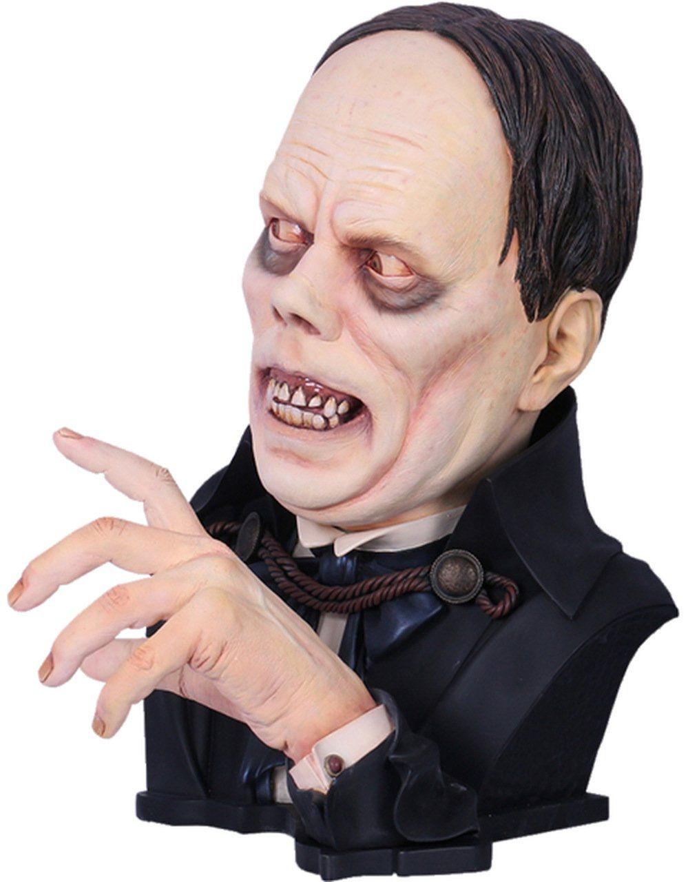 PRÉ VENDA: Busto Sr Lon Chaney: O Fantasma da Opera (The Phantom of the Opera) Life-Size - Black Heart Enterprises