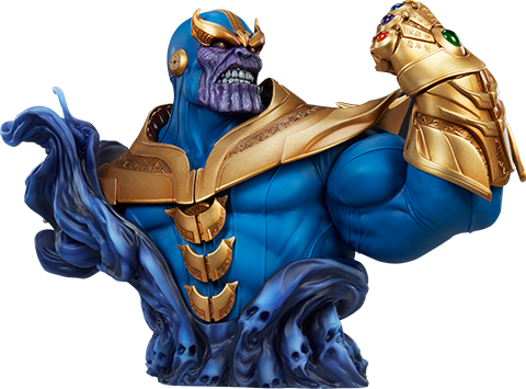 PRÉ VENDA: Busto Thanos: Marvel Comics - Sideshow Collectibles