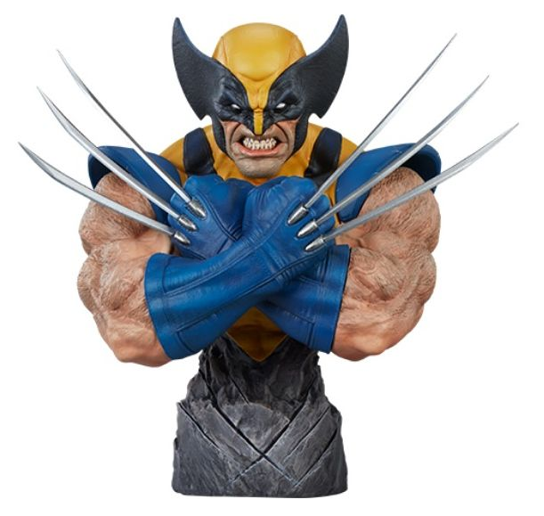 PRÉ VENDA: Busto Wolverine: X-Men Collection (Marvel) - Sideshow