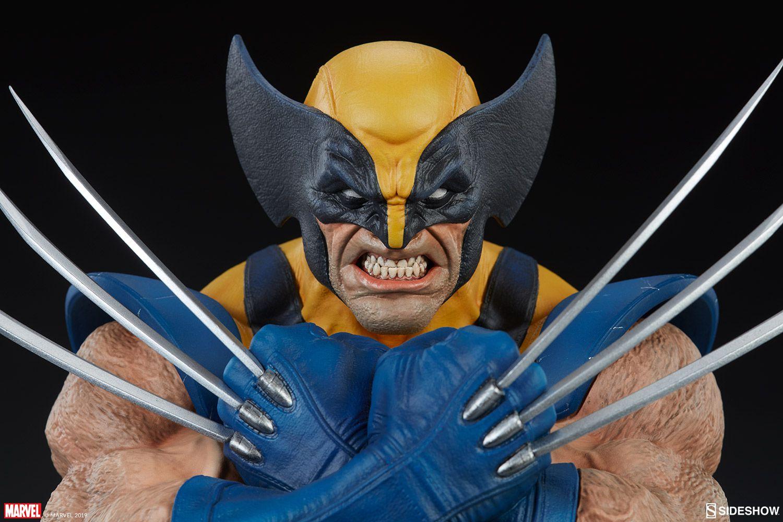 PRÉ VENDA: Busto Wolverine: X-Men Collection (Marvel) - Sideshow