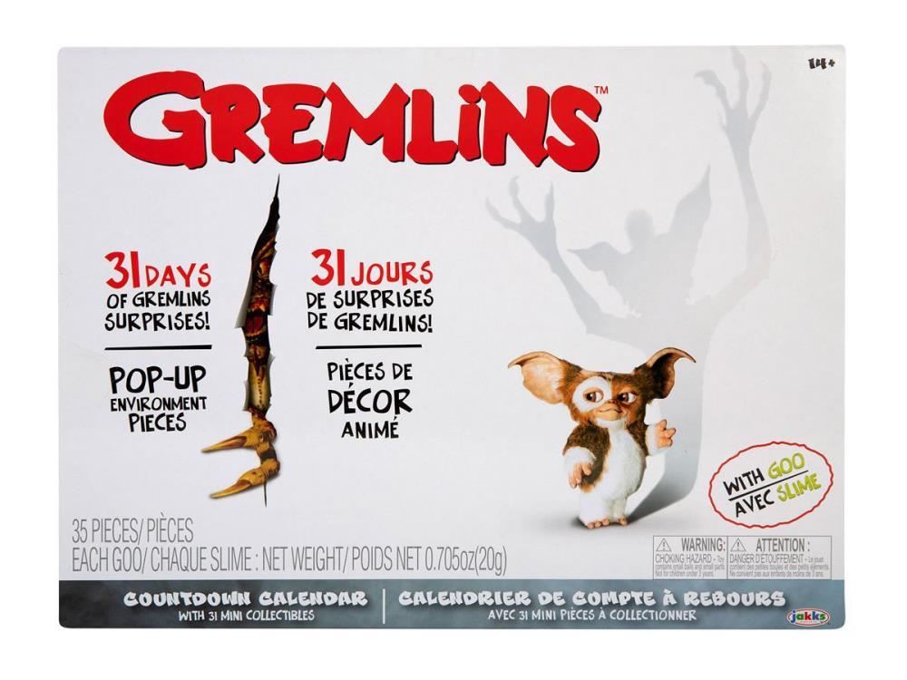 PRÉ VENDA: Calendário Gremlins - Jakks Pacific