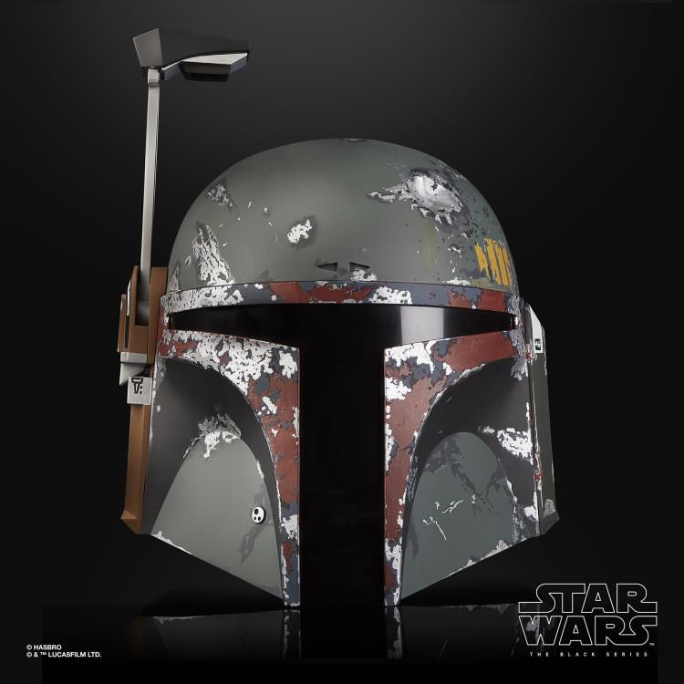 Capacete Eletrônico Boba Fett: Star Wars (The Black Series) - Hasbro