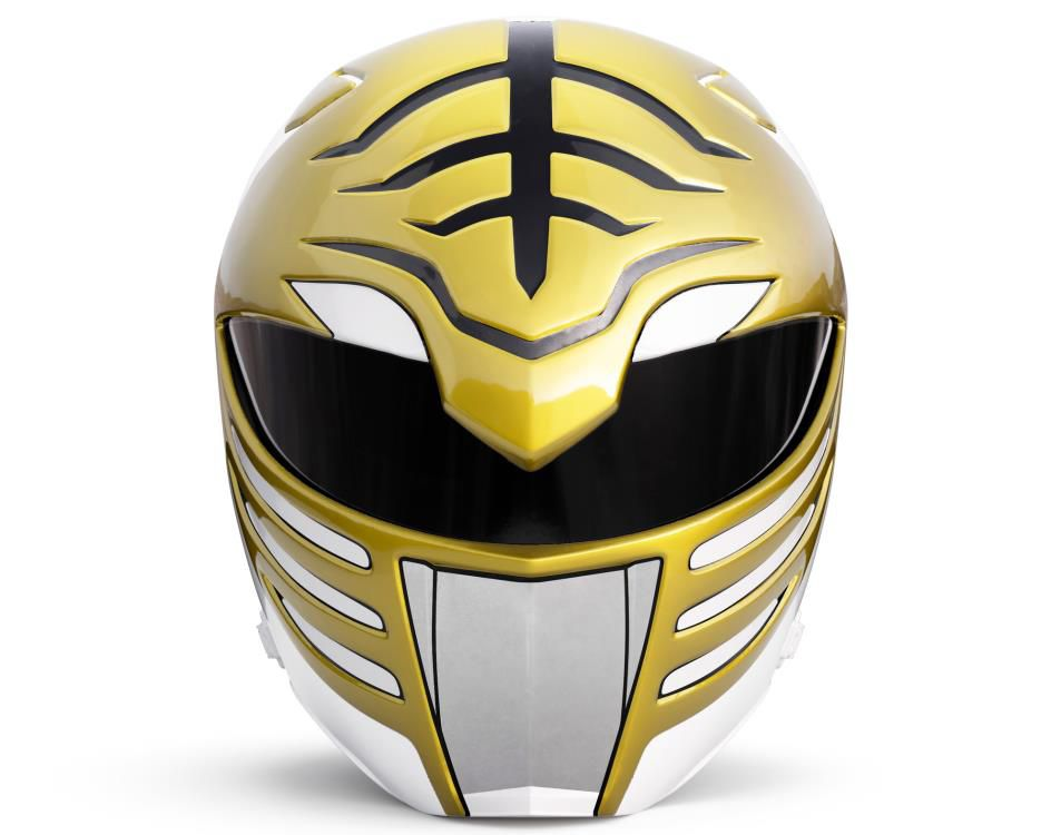 Capacete Ranger Branco (White Ranger): Power Rangers Mighty Morphin (Lightning Collection) - Hasbro
