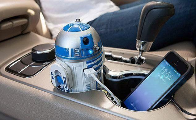 Carregador USB para Carro R2-D2: Star Wars