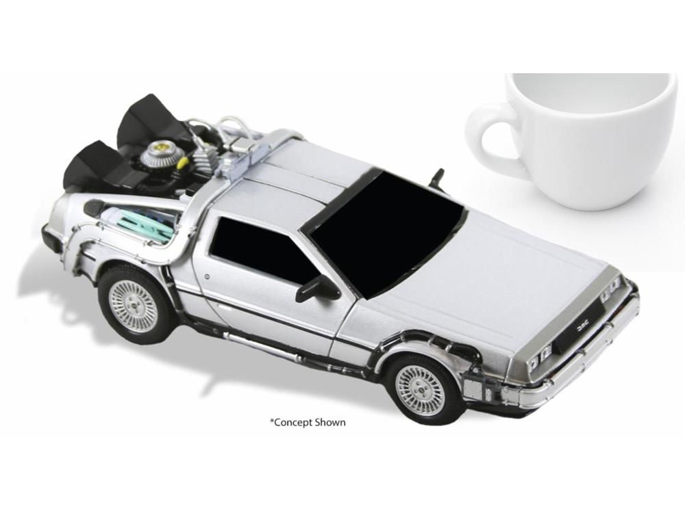 PRÉ VENDA: Carro Delorean: De Volta Para o Futuro (Back To The Future) (Die Cast) - Neca