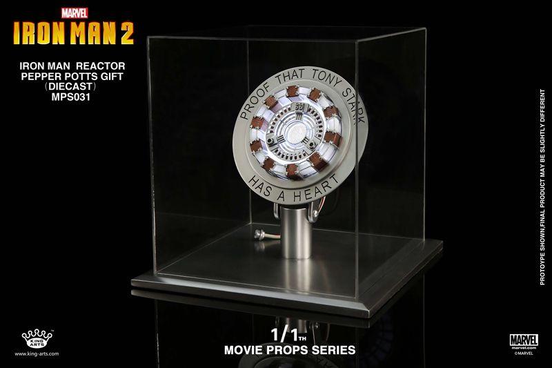 PRÉ VENDA Chest Reactor: Iron Man 2 (Escala  1/1) -  King Arts