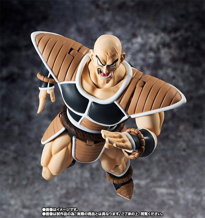Boneco Nappa: Dragon Ball Z S.H.Figuarts - Bandai