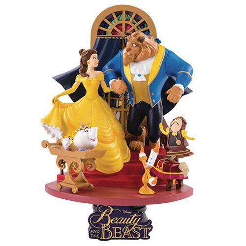 PRÉ VENDA: Estátua A Bela e a Fera (Beauty and the Beast): Disney Dream Select (PX Previews Exclusive) (DS-011)