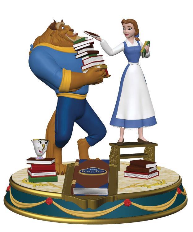 PRÉ VENDA: Estátua A Bela e a Fera (Beauty and the Beast): Disney Finders Keypers - Elephant Gun