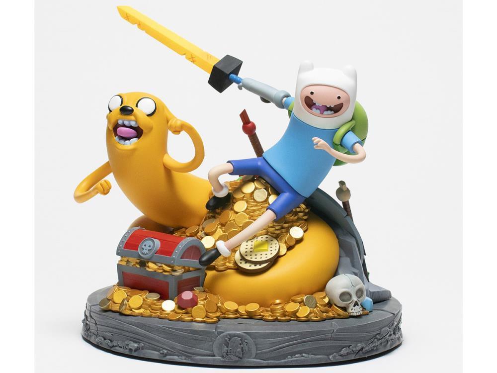 Pré Venda: Estátua Adventure Time Jake & Finn Limited Edition: Hora de Aventura Jake e Finn: (Edição limitada)