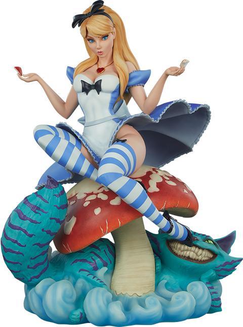PRÉ VENDA: Estátua Alice no País das Maravilhas Alice in Wonderland Fairytale Fantasies Collection Escala 1/5 - Sideshow Collectibles