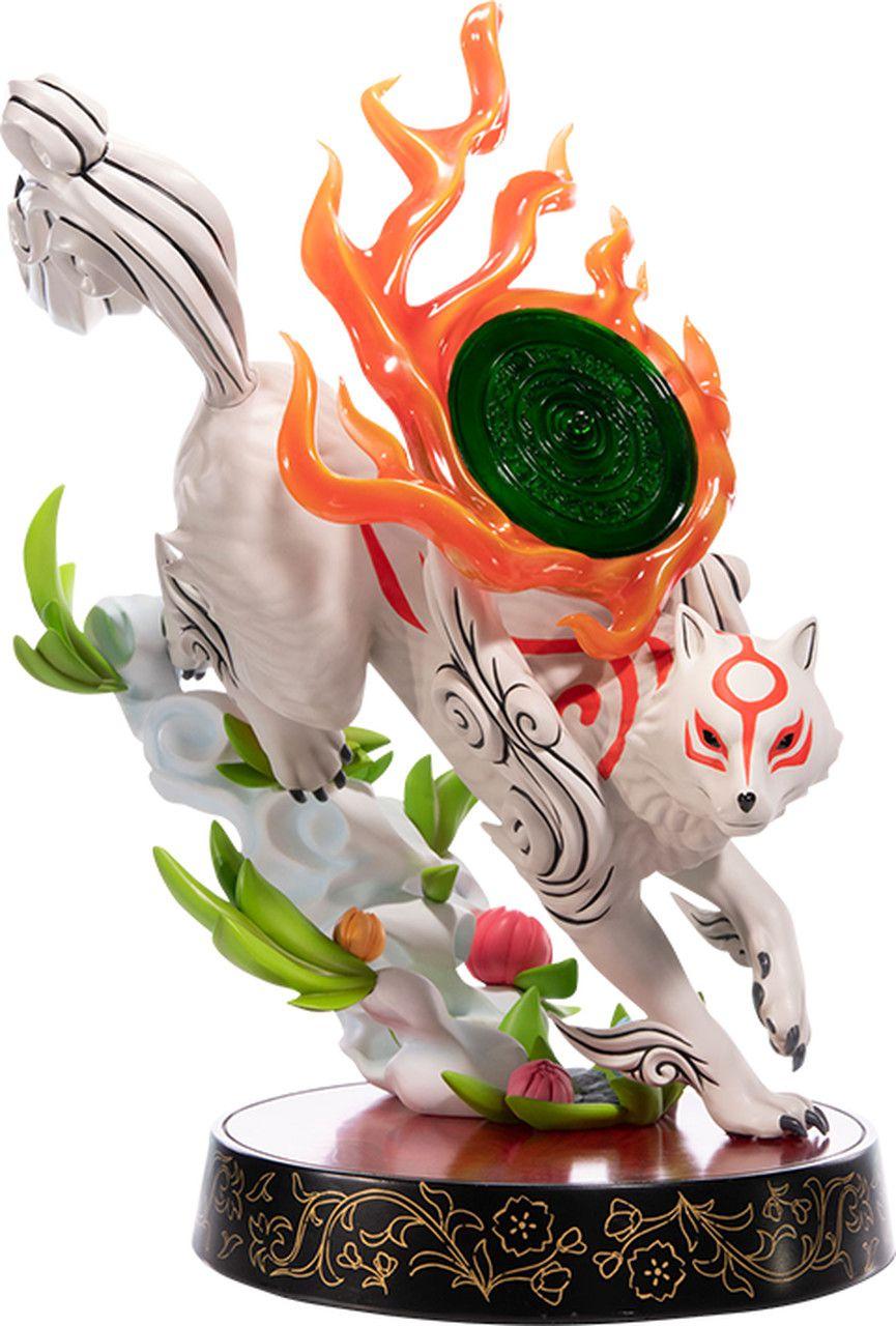 PRÉ VENDA: Estátua Amaterasu (Divine Descent): Okami (Standard Edition) Escala 1/4 - First 4 Figures