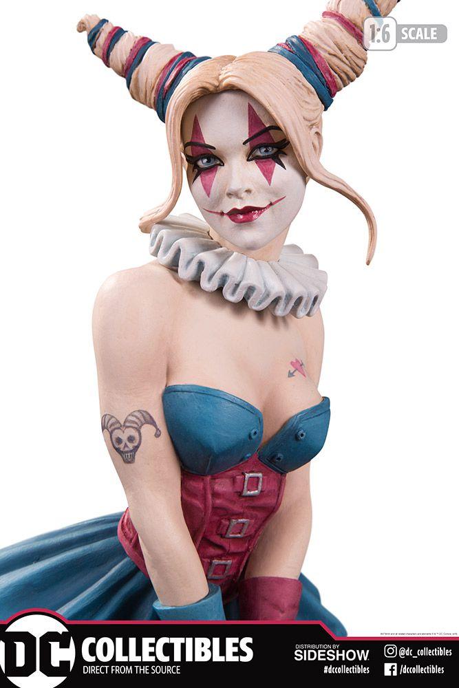 PRÉ VENDA: Estátua Arlequina (Harley Quinn): Batman The Dark Prince Charming (DC Designer Series) - DC Direct