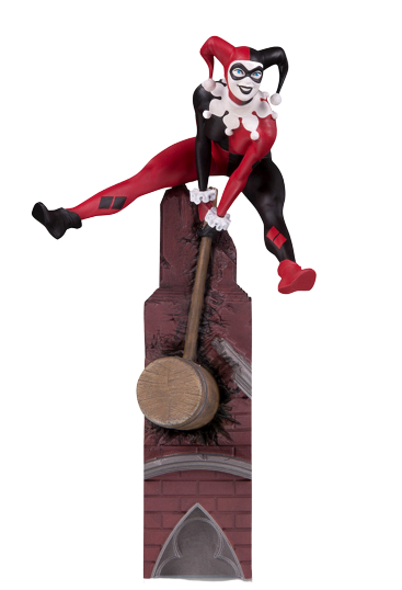 PRÉ VENDA: Estátua Arlequina (Harley Quinn) Multi-Part Statue (Batman Rogues Gallery) DC Comics - DC Collectibles