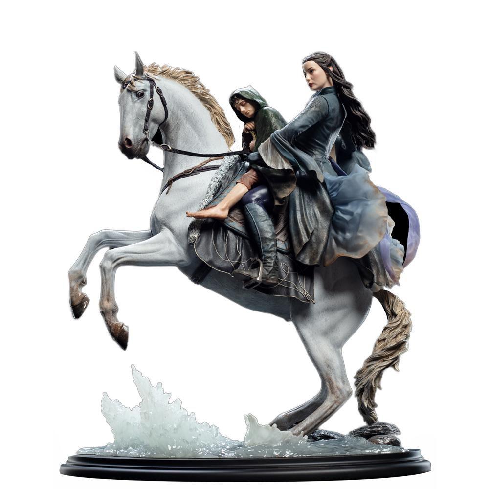 PRÉ VENDA: Estátua Arwen & Frodo on Asfaloth: O Senhor dos Anéis (The Lord of the Rings) Escala 1/6 - Weta