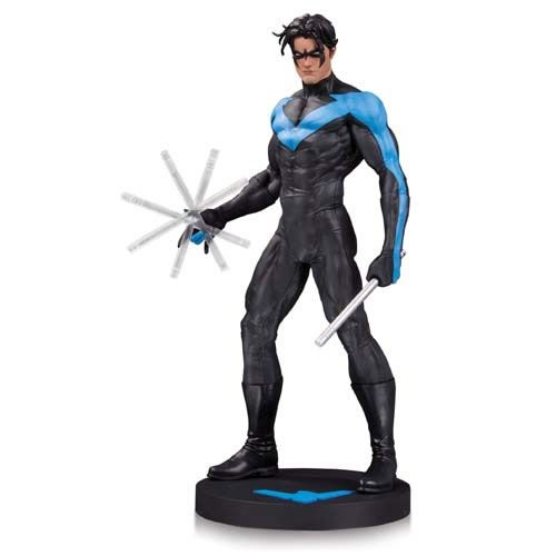 "Estátua Asa Noturna (Nightwing) 13"": DC Designer Series (By Jim Lee) - DC Collectibles"