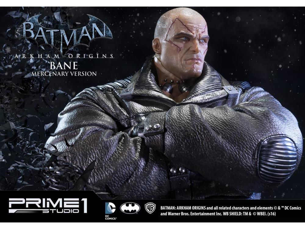 PRÉ VENDA: Estátua Bane (Mercenary): Batman: Arkham Origins (Museum Masterline) Escala 1/3 - Prime 1 Studio