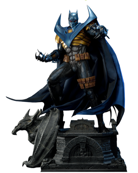 PRÉ VENDA: Estátua Batman: A Queda do Morcego (Knightfall Batman) Museum Masterline (DC Comics) Escala 1/3 Exclusive - Prime 1 Studio