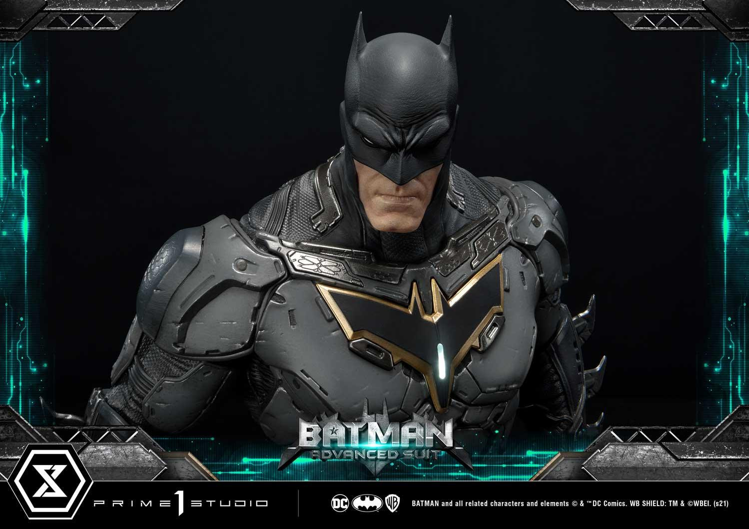 PRÉ VENDA: Estátua Batman Advanced Suit: Dc Comics  - Statue Prime 1 Studio